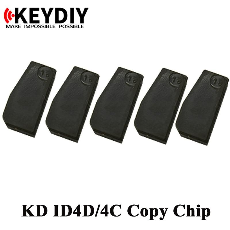 10 шт. Авто KD транспондер чип KD ID4C/4D ID46 KD-4D KD-46 KD-48 4C 4D 46 48 скопировать чип для KEYDIY KD-X2