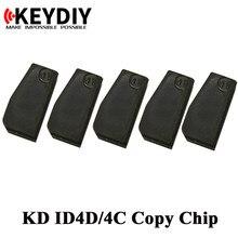 10pcs auto transponder chip KD KD ID4C/4D ID46 KD-4D KD-46 KD-48 4C 4D 46 48 cópia chip para KEYDIY KD-X2