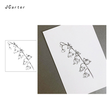 JC Clear Rubber Stamps Fine Bunch of Flowers Silicone for Scrapbooking Paper Card Making Craft Decoration New Stamp 2019