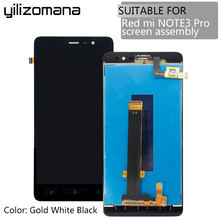 5.5YILIZOMANA For Xiaomi Redmi Note 3 Pro LCD Display Touch Screen with Frame Assembly Note3 Prime