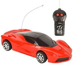 4 Каналы RC автомобиль игрушка, в красном и желтом цветах, светодиодный светильник Электрический робот игра моделей спортивных автомобилей и...