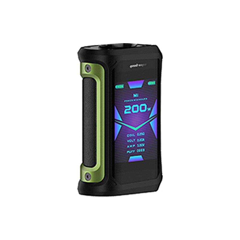 Gratuit Zeus X RTA & coton!! 200W Geekvape Aegis X Box Mod alimenté par double batterie 18650 Max 200W e-cig Vape Mod Box vs Aegis solo - 4