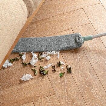 Limpiador de polvo para el hogar, cepillo de limpieza de polvo telescópico...