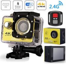 H9r экшн камера с wi fi 4k 25 кадров в секунду 20 дюйма 170d