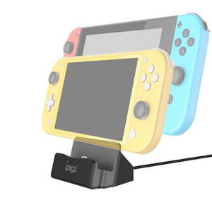 Image 3 - 18 in 1 Accessories Kit For Nintend Switch Lite Carrying Bag Case Charging Stand TPU Shell Type C Cable Tempered Screen Film