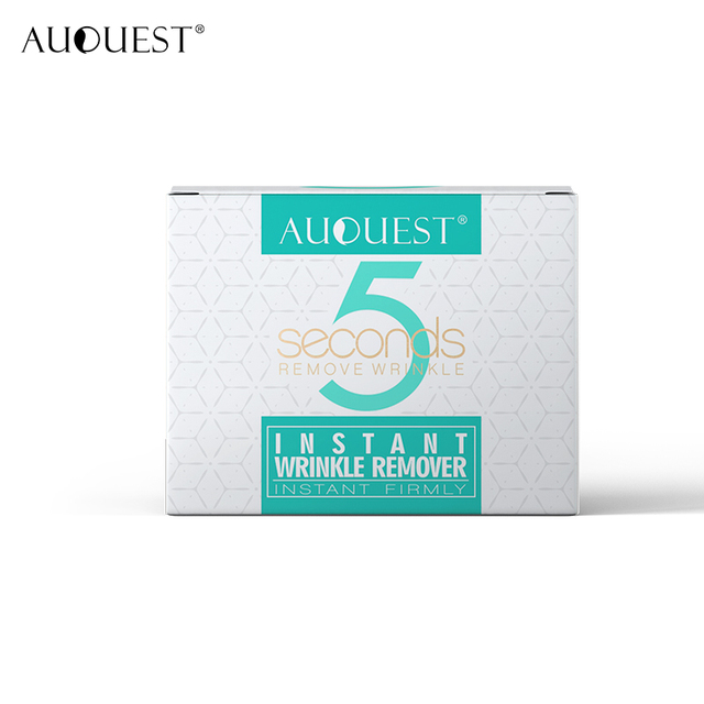 AuQuest 5 seconds Wrinkle Remover Puffy Eye Bags Firm Skin Lifting Peptide Anti Aging Day Cream Makeup Primer Makeup Base Beauty 5