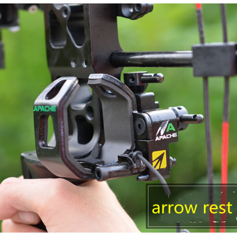 Apache Landing Arrow Rest NAP Apache Original Landing And Falling Bow Arrow Rest Arrow Send Tool Buckle  Archery Accessories