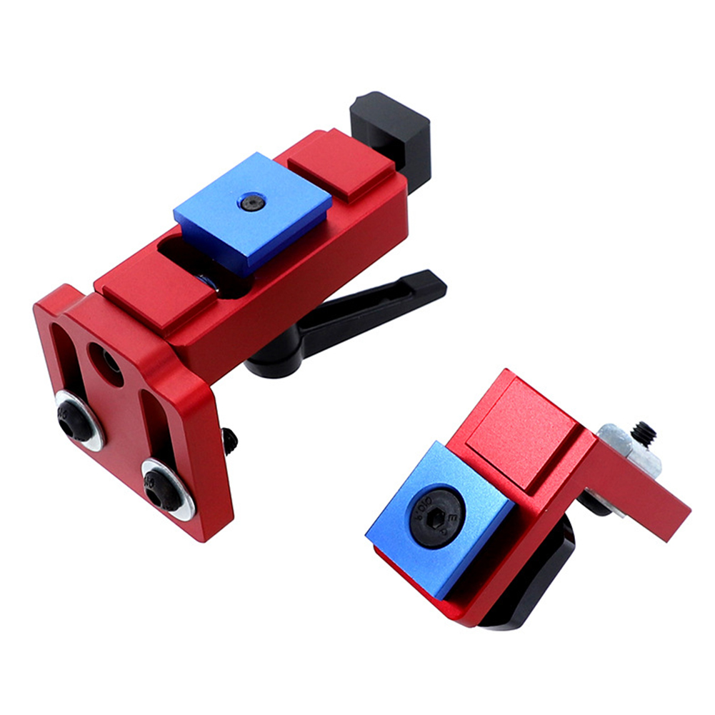 30/45 T-Slot Miter Chute Locator Track Stop Sliding Miter Gauge Fence Connector Woodworking Miter Track Stop Rail Retainer