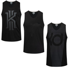 Asian Size Basketball Jerseys KI & KD & KB Quick Dry Breathable Outdoor Unisex Sports Comfortable T-shirts 6XL(China)