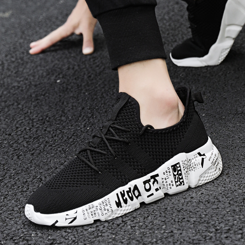 Men Sneakers Brand Male Casual Shoes  For Outdoor  Walking Jogging  Lac-up Lightweight  Breathable Plus Big  Zapatos Hombre Grey