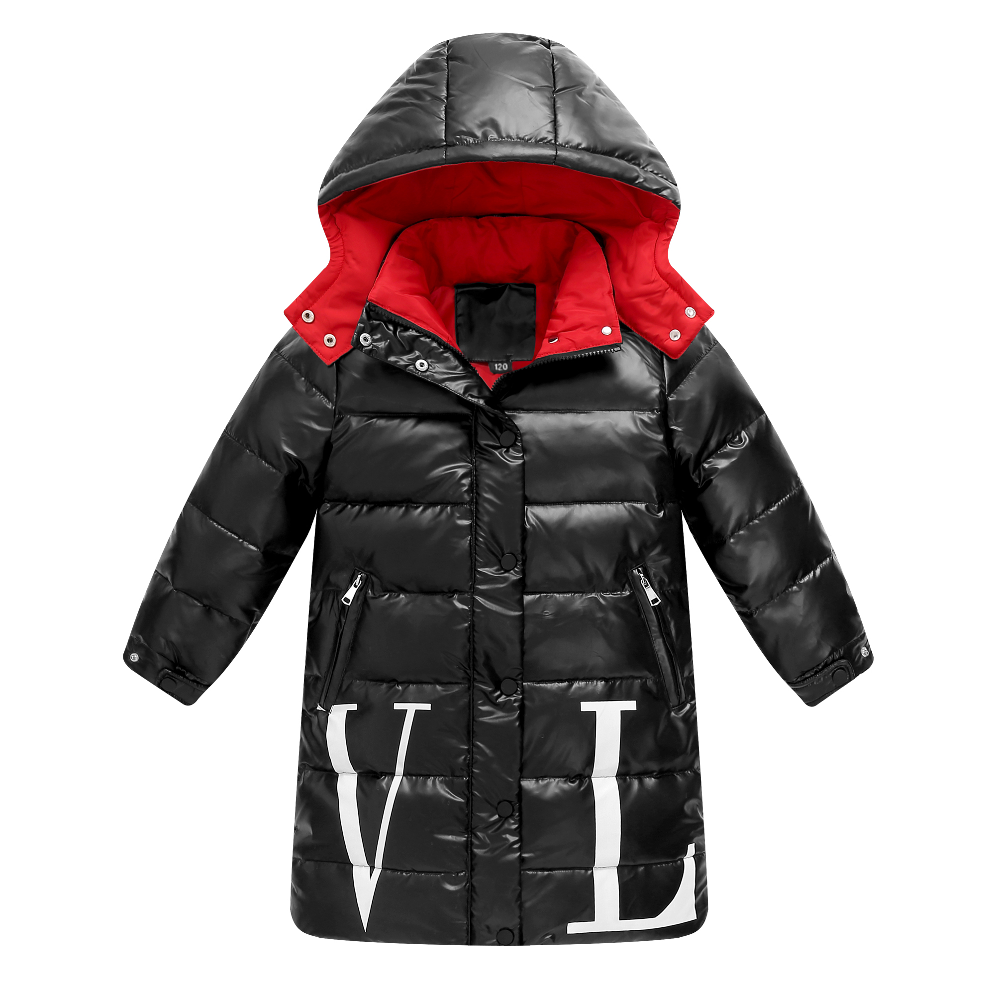 Jackets Clothing Degrees-Coats Kids Parka White-Duck-Down Girls Waterproof Winter Warm