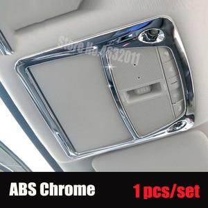 Для Nissan Navara NP300 D23 2017-2019 ABS Матовый/хром/углеродное волокно автомобильный передний светильник для чтения лампа рамка Аксессуары 1 шт