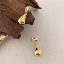 Silvology Teardrop Stud Earrings 925 Sterling Silver Zircon Glossy Water Drop Elegant Earrings for Women Gold Friendship Jewelry bling jewelry 925 sterling silver teardrop hook earrings