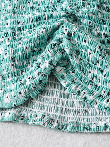 Image 5 - Женский винтажный костюм двойка, топ на бретельках без рукавов, богемная юбка макси на завязках, хлопковый комплект из 2 предметов в стиле бохо