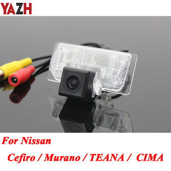 HD Car Rear View Camera For Nissan Cefiro 08 Murano TEANA CIMA 2008-2016 Android Video GPS Night Vision Parking Reverse Camera image