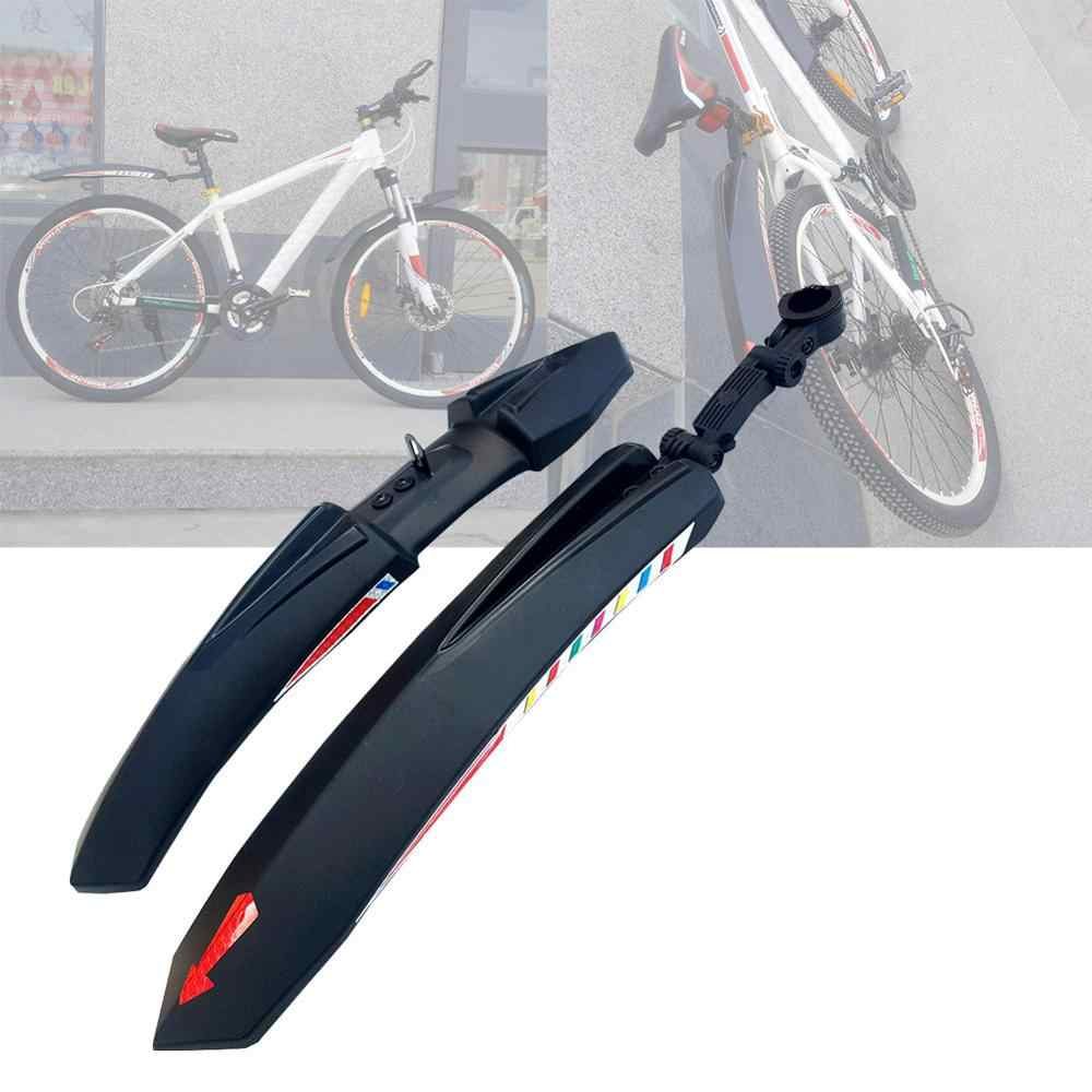 Bicycle Bike Fender Mountain Front Rear Quick Release Cycling Wings Guard Parts