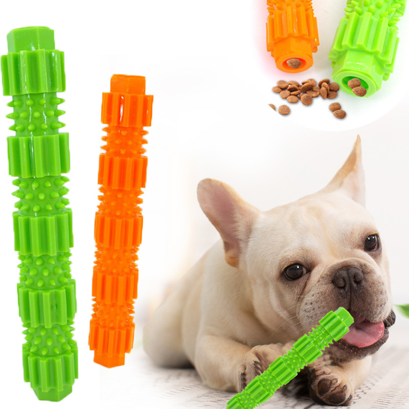 Pet Dog Teeth Cleaning Toy Dog Chew Toy ,Dog Toys for Small Dogs ,Puppy Toys Dog Toothbrush ,Dog Toys Squeaking Rubber Dog Toy