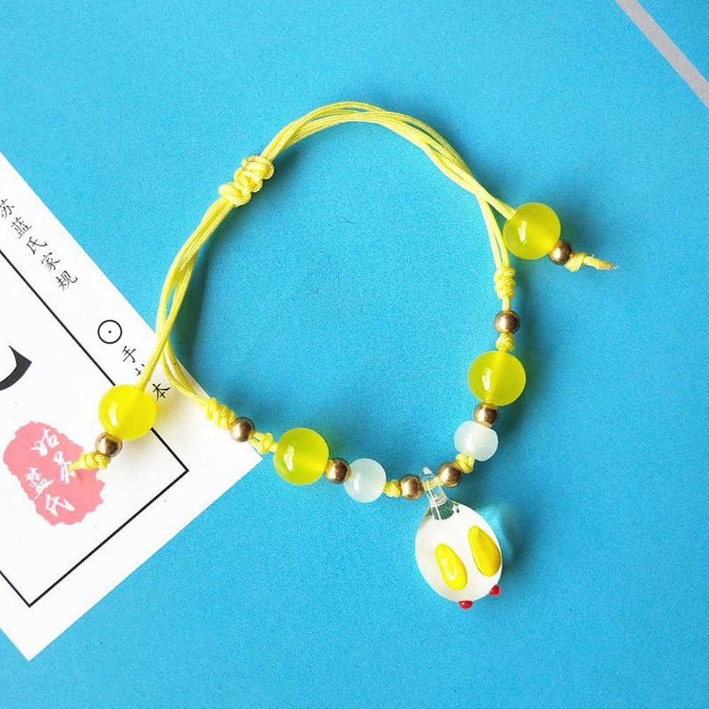 Mo Dao Zu Shi Handmade Beads Bracelet Jewelry Accessories Chen Qing Ling Bracelet Wei Wuxian Gold Beads Bracelets DIY Toys Hot