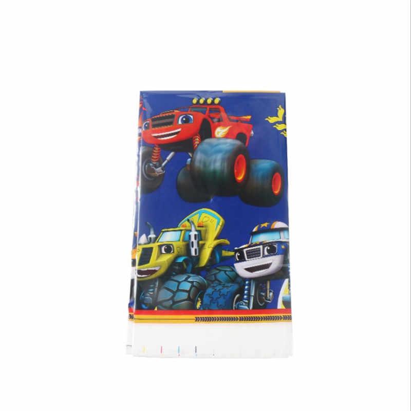 Kokoer Blaze En De Monster Machines Verjaardagsfeestje Set Decoraties Papier Cup Plaat, kids Jongen Kinderen Dag Feestartikelen Auto