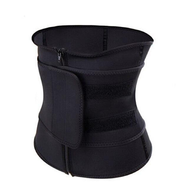 Women Sauna Thermo Shaper Sweat Waist Trainer Belt Slimming Vest Corset Black