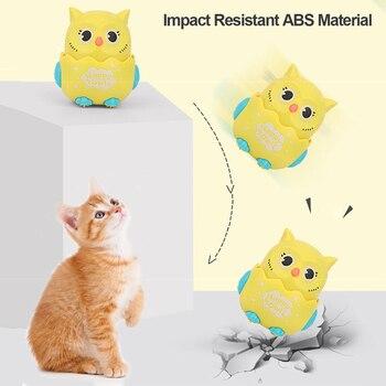 Happy Owl Wind Up Kitten Squeaky Toy  5
