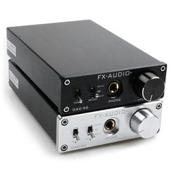 FX-AUDIO DAC-X6 MINI HiFi 2.0 Digital Audio Decoder DAC Input USB/Coaxial/Optical Output RCA/ Amplifier 24Bit/96KHz DC12V