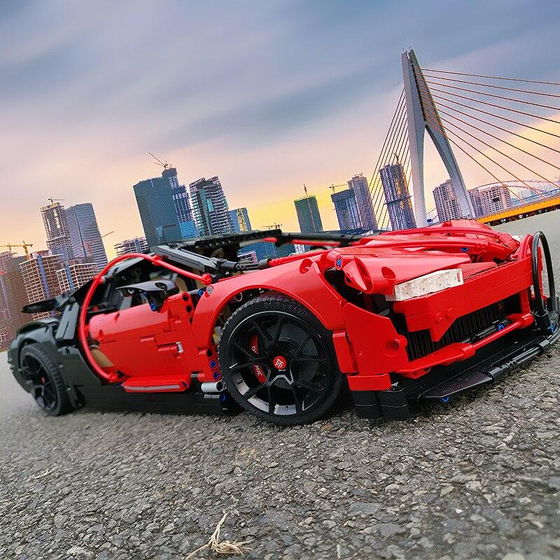 3625 Pcs LegoED Bugatti Chiron 42083 Super Racing Car Building Blocks Technic Mechanical Bricks Construction Toys For Adults