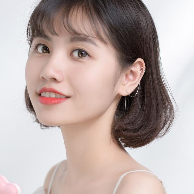2020 New Korea Love Ear Clip Long Tassel Bar Drop Earrings For Women Minimalism Personality Ear.jpg 640x640 - 2020 New Korea Love Ear Clip Long Tassel Bar Drop Earrings For Women Minimalism Personality Ear Line Dangle Oorbellen Gift