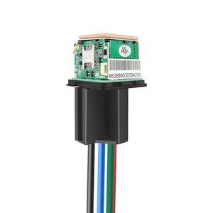 Image 3 - 자동차 추적 릴레이 gps 트래커 장치 gsm 로케이터 원격 제어 도난 방지 모니터링 오일 전원 시스템 app 차단