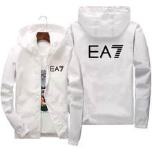 men's clothing sport clothes men New Men's Jacket EA7 Casual Jacket Men's Jacket Large S-7XL Print Jacket Jacket