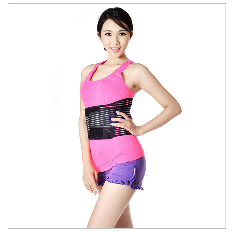 Self Heating Waist Supporter Steel Plate Widened Deconstructable Curve Steel Plate Warm Waist Support Breathable Girdle Lumbar S