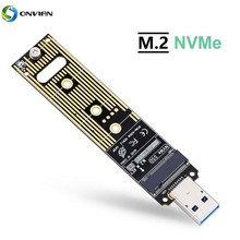 Onvian M.2 NVME USB 3.1 Adapter M-Key NGFF to Card High Performance 10 Gbps Gen 2 Bridge Chip SSD