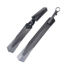 1 Pair New Bicycle Mudguard Mountain 26 27.5 29 Inch Bike Mud Wings Front/Rear Fender Quick Mount 27.2-34.9Mm Seatpost
