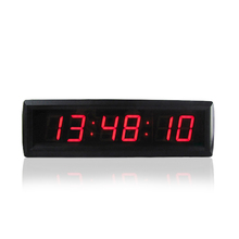 1.8 Inch big digital escape room countdown timer clock customizable LED for roombreak