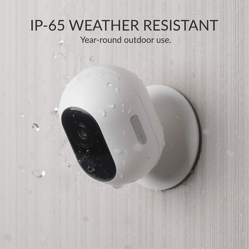 Wireless Home Security Add Indoor & Outdoor Camera HomeKit Compatibility Wi-Fi Rechargeable Battery 3month Free YI Cloud Service