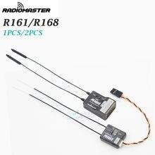 Radiomaster 2.4g r81 8ch d8 r161 r168 16ch d16 mini nano receptor para tx16s se jumper t18 frsky x9d x-lite transmissores