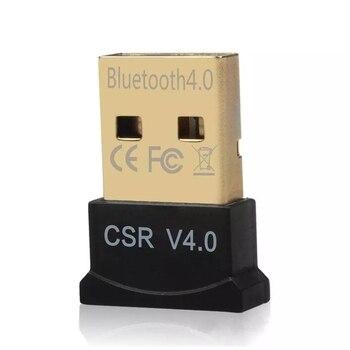 SEM Fio Mini USB Bluetooth CSR 4.0 Modo Duplo Adaptador Dongle Para Windows 10 8 7 Vista XP 32/64 Bit Raspberry Pi Preto 1