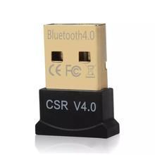 SEM Fio Mini USB Bluetooth CSR 4.0 Modo Duplo Adaptador Dongle Para Windows 10 8 7 Vista XP 32/64 Bit Raspberry Pi Preto