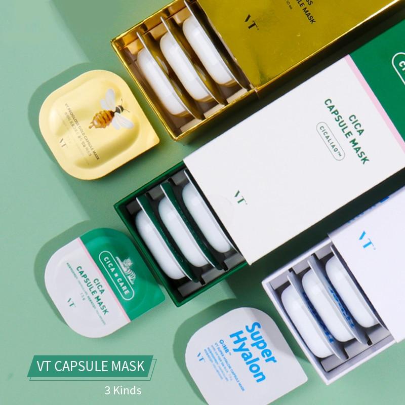 Korea vt glina zabieg na twarz maska seria centella miód złoty hydration maska do twarzy, nawilżający zestaw maski do czyszczenia twarzy