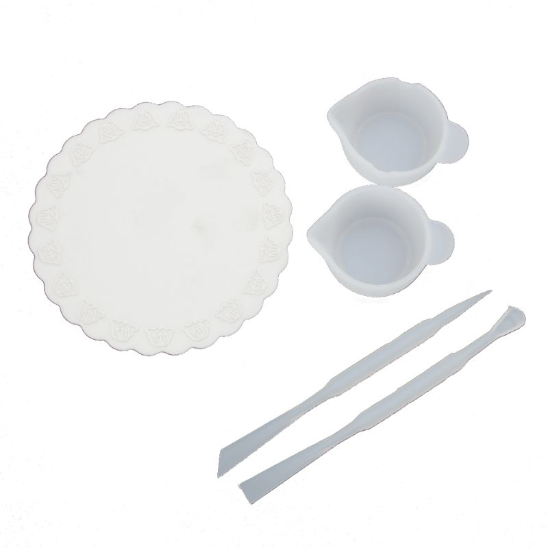 UV Resin DIY Casting Jewelry Tools Kit Including Silicone Cup Stirrers Spoon Pad Whosale&DropShip