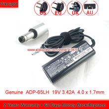 Подлинная 19v 342a 65 Вт Зарядное устройство adp 65lh адаптер