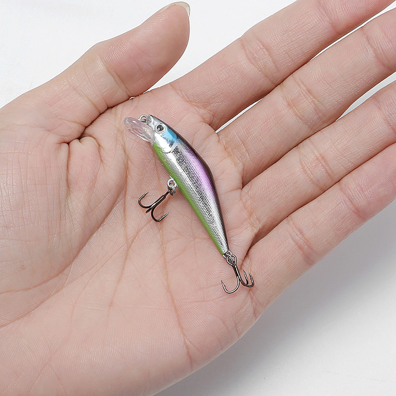 5.5cm 3.4g Sinking Fishing Lure Parts River Japan Mini Wobblers Fishing Lures Deep Minnow Pesca Fishing Artificial Bait Fish