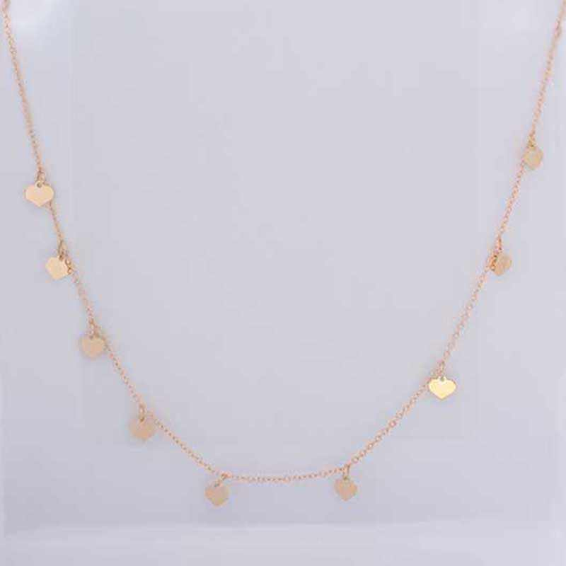 2018 Fashion Peach Heart  Necklace&Pendant For Women Personality  Collier Necklace Jewelry  Free Shipping XL857