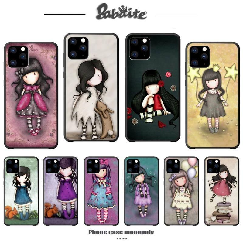 Babaite Santoro Gorjuss Etui De Luxe Funda Pour Iphone 5s Se 2020 6 6s 7 8 Plus X Xs Max Xr 11 Pro Max Étuis En Silicone Coque