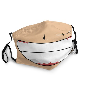 Mascarilla reusable ajustable de la sonrisa de Luffy Mascarillas de Anime Mascarillas de One piece Merchandising de One Piece