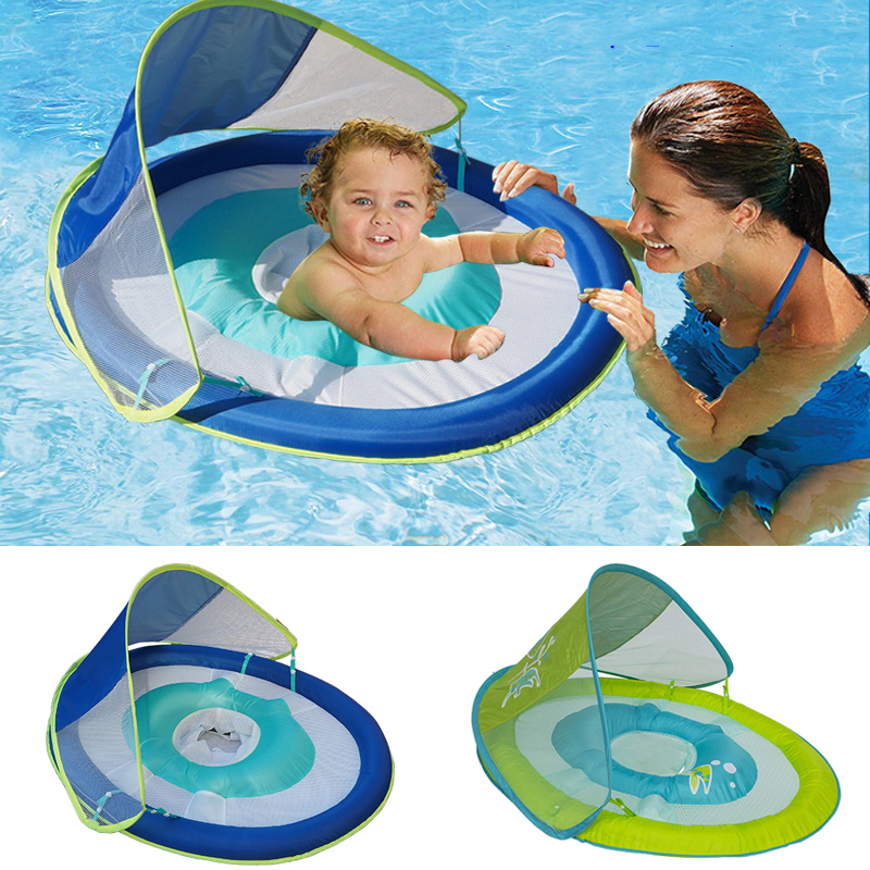 Baby Solid Float Ring No Inflatable Toddler Safety Seat Aquatics Swim Floating Swimming Pool School Training Swim Trainer