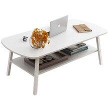 Простой скандинавский Маленький журнальный столик для хранения износостойкий небольшой гостиной обеденный стол для чая боковой Диванный стол