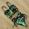 Mujer High Patterned Print Waist Bikini Set 16