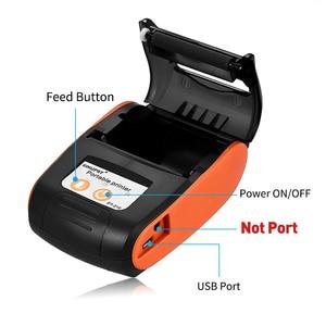 Image 2 - POS Senza Fili Mini 58 millimetri Stampante Bluetooth Portatile Stampante Termica per Ricevute Per Il Telefono Mobile Android iOS Finestre Tasca Disegno di Legge di Stampa