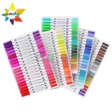 Watercolor-Pen-Set Art-Supplies Soft-Head Needle-Pen 12/24/36-/..